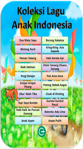 Indonesian Kid Song Collection