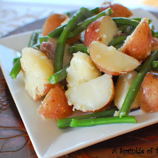 Red Potato and Green Bean Saute