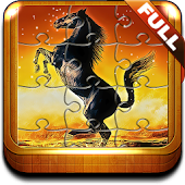 Horse Jigsaw Puzzles Game HD