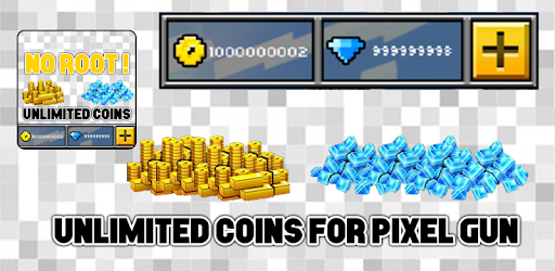 Coins For Pixel Gun 3D : Prank for PC