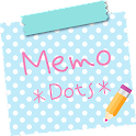 Sticky Memo Notepad *Dots*