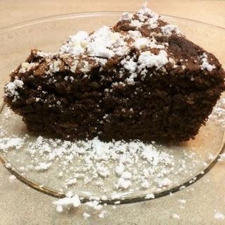 Chocolate Brownie Cake.