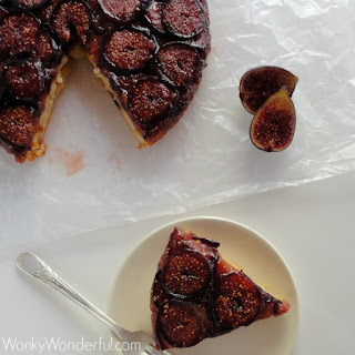 Fig Upside Down Cake.