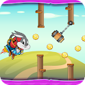Bugs Flapy Bunny with Jetpack icon