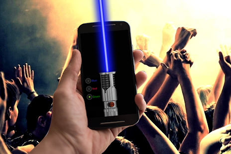Laser pointer flashlight screenshot