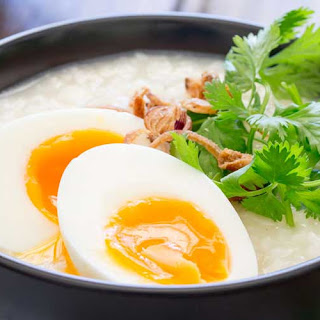 Rice Congee Eggs Recipes.