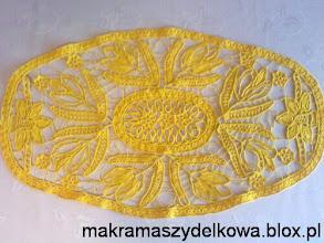 Photo: romanian point lace makrama szydełkowa