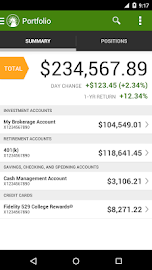 Fidelity Investments Screenshot 3