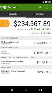 Fidelity Investments- screenshot thumbnail