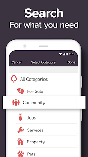 Gumtree: Find Jobs. Buy & Sell via Home Delivery Screenshot