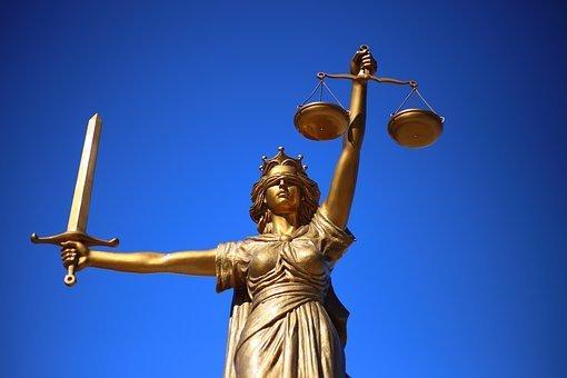 ustice, Statue, Lady Justice
