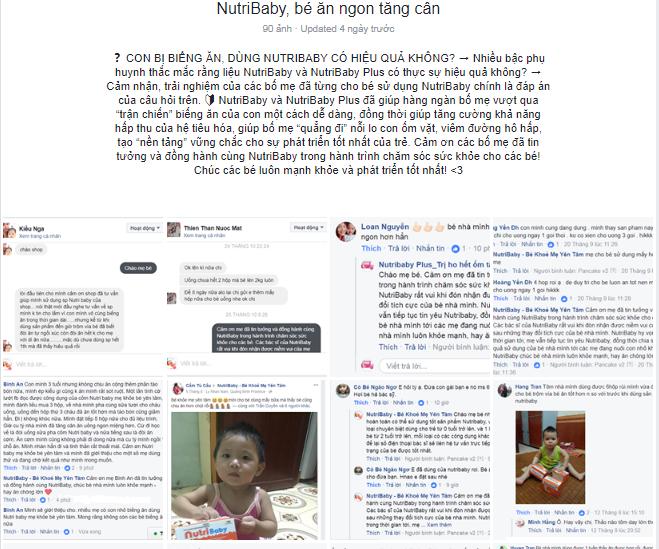 Nutribaby - đã và đang chiếm trọn niềm tin yêu của các bà mẹ! 3