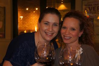 Photo: Me and my friend Jennifer enjoying our wines!