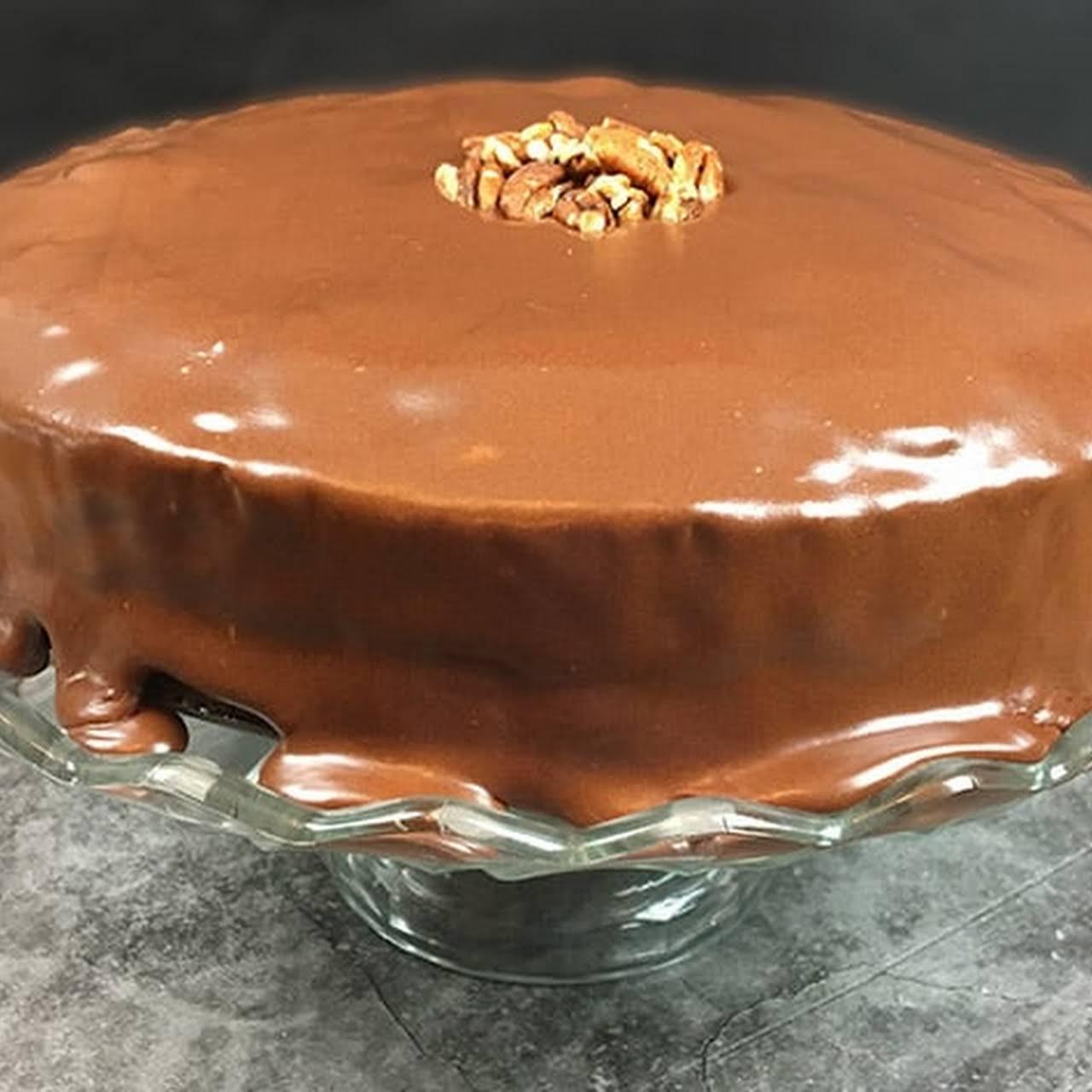 Chocolate Pecan PieCaken