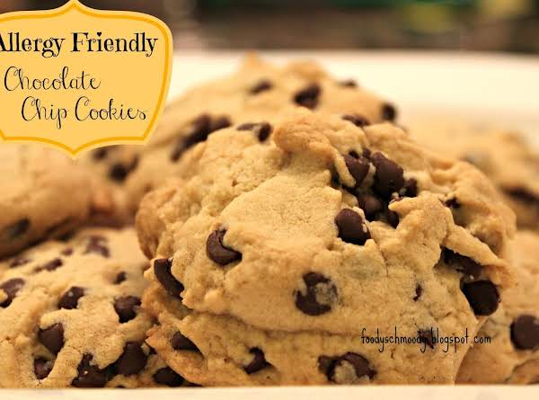 Allergy Friendly Chocolate Chip Cookies Recipe
