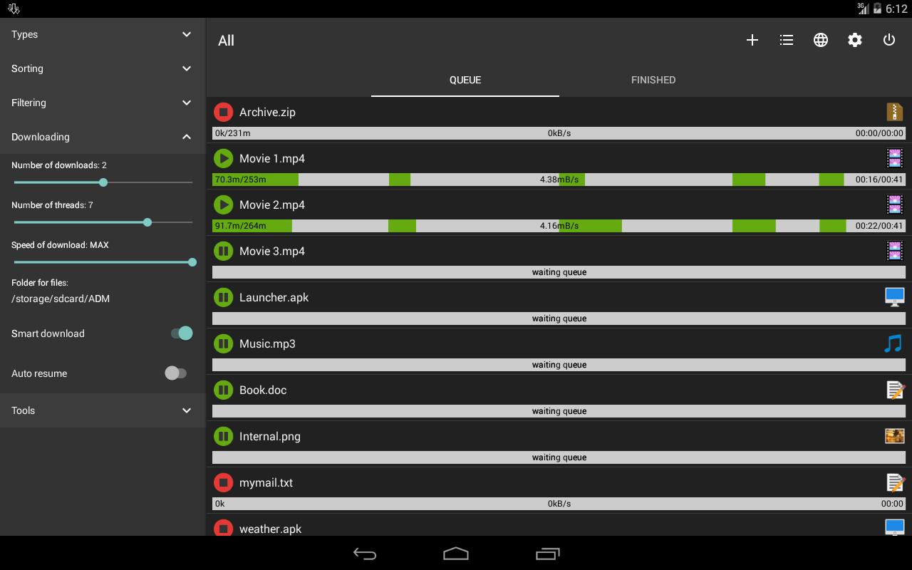 أفضل تطبيق لتحميل تسريع الملفات gAU6l3572LLjMHCNLeEj