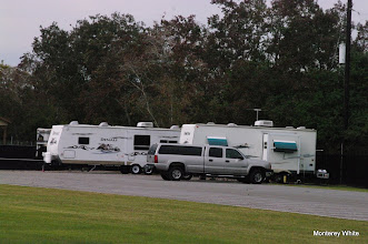 Photo: Now three trailers - McCoy, Rains, and Brothers.   2009-1127 HALS Anniversary Meet
