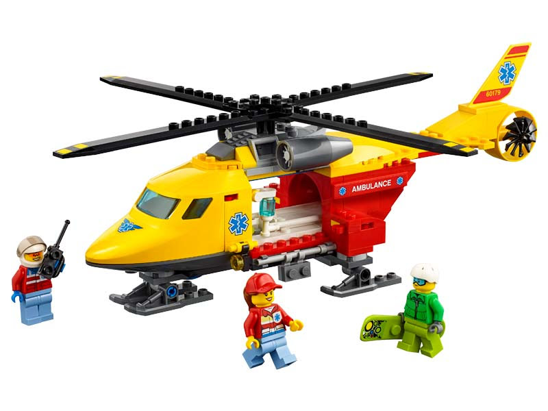 Contenido de Lego® 60179 Helicóptero Ambulancia