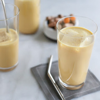 Golden Milk Turmeric Iced Latte