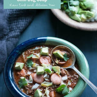 Chili Dog Soup – Low Carb & Gluten Free.