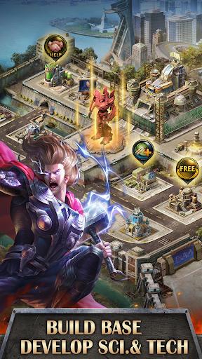 Mutants War: Heroes vs Zombies MMOSLG apktram screenshots 3