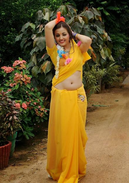 Sana Oberoi in saree, Sana Oberoi hot scene, Sana Oberoi movies