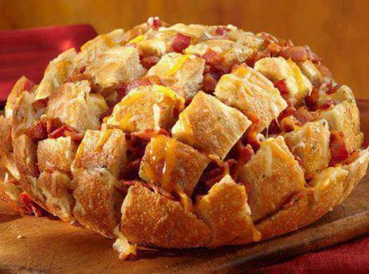 Bacon Cheddar Pull-apart Bread Recipe