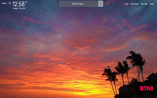 Sunset Wallpapers HD Theme