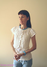 Photo: женское вязаное болеро Ракушка