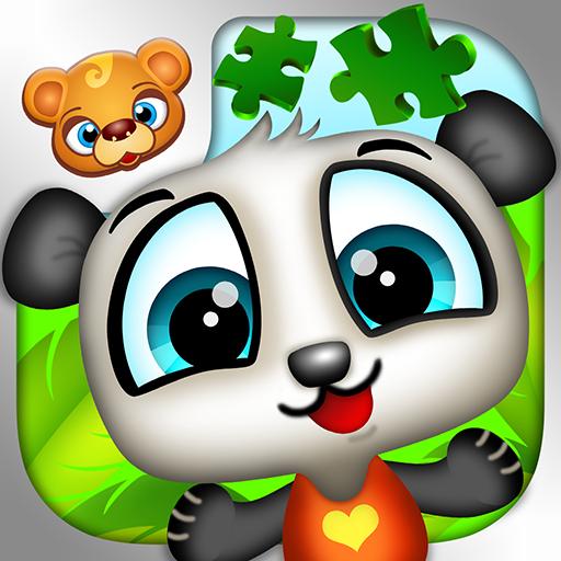 123 Kids Fun PUZZLE GREEN Free 教育 LOGO-玩APPs