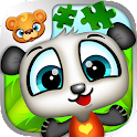 123 Kids Fun PUZZLE GREEN Free icon