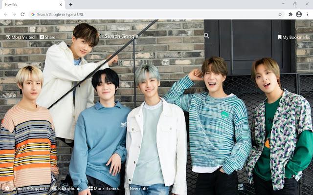 NCT K-Pop Wallpaper HD New Tab
