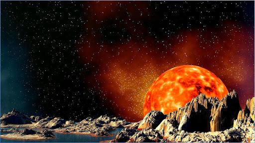 行星秋季科幻壁纸