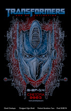 Photo: Back 'Transformers: Age of Extinction' Tshirt design for Cinetopia.