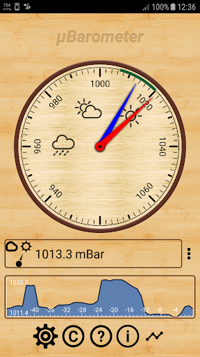 mu Barometer 3.2.0 screenshots 1