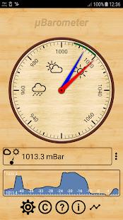 mu Barometer - náhled