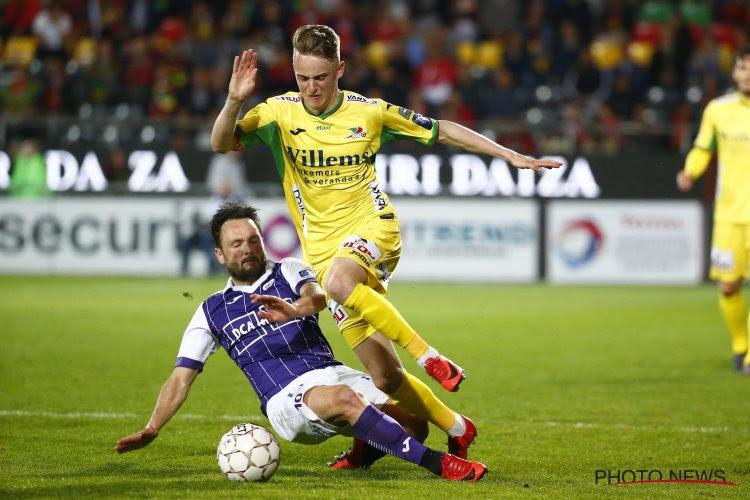 """KVO-talent dat zaterdag eerste basisplek versierde, kon na maandenlange darmproblemen niet bij Club Brugge blijven: """"Dat is het lot zeker?"""""""