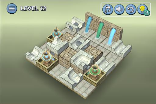 Flow Water Fountain 3D Puzzle Screenshots 7