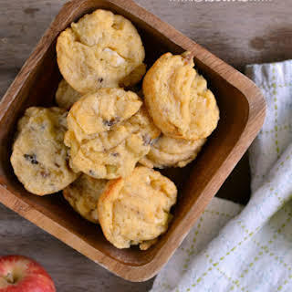 Bacon Apple Cheddar Biscuits.