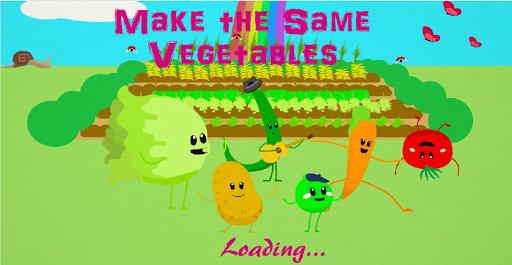 Make the same Vegetables