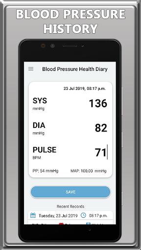 Blood Pressure Check Diary: BP Info 1.0 screenshots 1