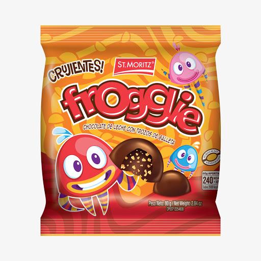 chocolate st moritz froggie 80gr