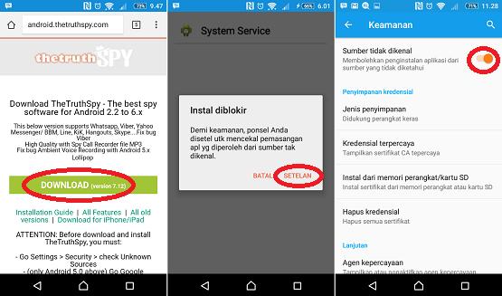 Cara Sadap BBM dengan aplikasi Android 2018
