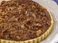 Mrs. Aver's Date Walnut Pie Recipe