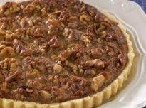 Mrs. Aver's Date Walnut Pie Recipe