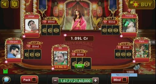 Universal Teen Patti - Indian Poker Game 0.24 gameplay | by HackJr.Pw 1