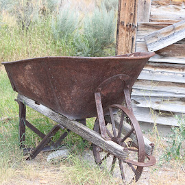 by Liz Huddleston - Artistic Objects Industrial Objects ( bannack, bannack ghost town, ghost town, montana,  )