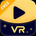 VR Cinema - Moon VR Player: 3d/360/180/Videos icon