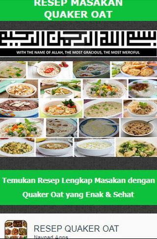 Download Resep Masakan Quaker Oat Google Play Softwares