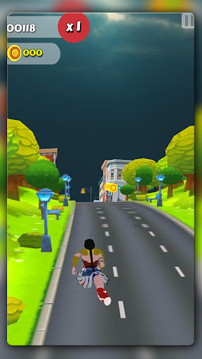 Wonder Lady Runner 1.6 screenshots 3